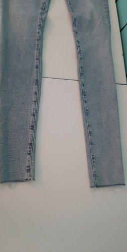 Tommy Hilfiger pantalón de cintura baja gris claro