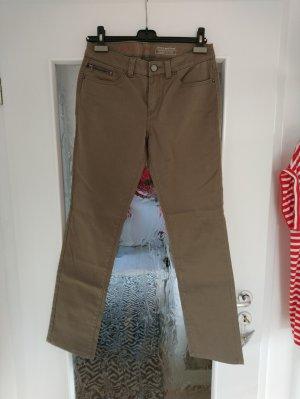 adc by Esprit Spodnie z wysokim stanem khaki