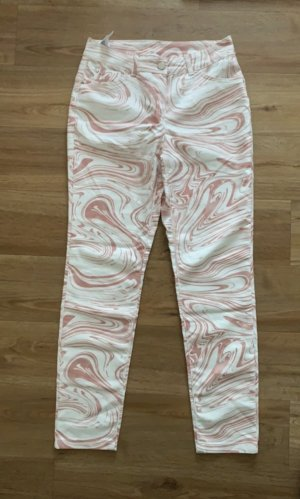 BGN Jersey Pants natural white cotton