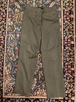 Cambio Pantalon en jersey gris brun coton