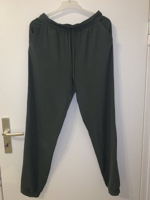 Primark Pantalon kaki vert foncé
