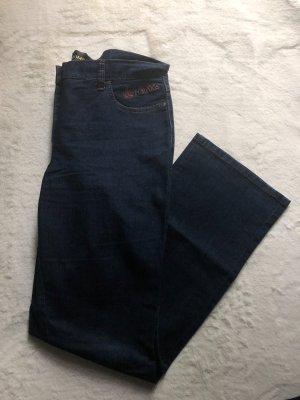 Pompöös by Harald Glöckler Pantalon cinq poches bleu foncé