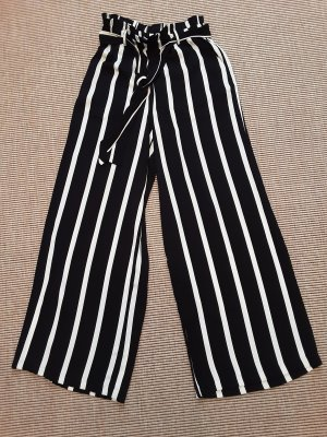 Pieces Marlene Trousers white-black