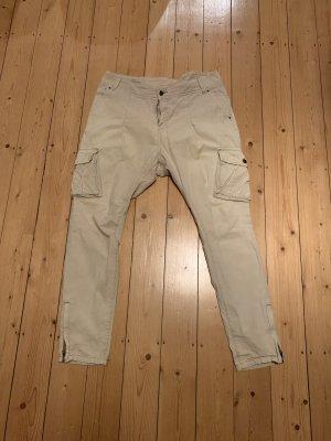 Vero Moda Pantalone largo beige chiaro