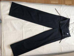 Springfield Pantalon en lin noir