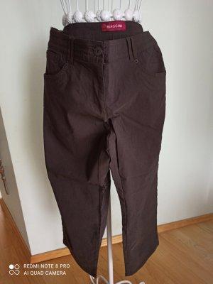 Biaggini Stretch broek donkerbruin