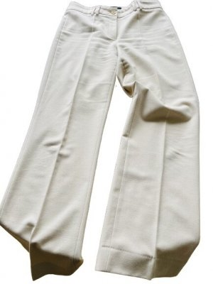 Cambio Pantalone jersey crema