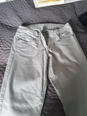 Sonstige Pantalon kaki gris clair