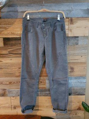 s.Oliver Boyfriend Trousers dark grey