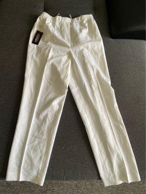 Les Bonnes Copines Pantalone largo bianco