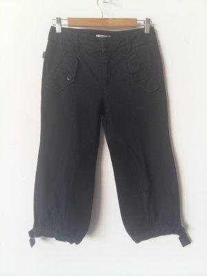Moschino Jeans Pantalón pirata azul oscuro Algodón