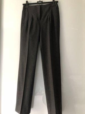 Hugo Boss Pantalone di lana antracite-grigio chiaro