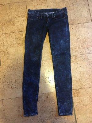 H&M Pantalone a sigaretta blu scuro