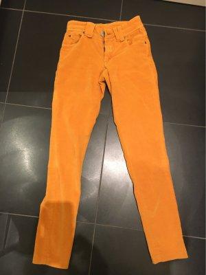 Galliano Pantalone chino arancione chiaro