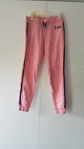 Franklin & marshall Pantalone fitness rosa-blu Cotone
