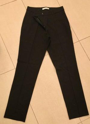 (The Mercer) NY Pantalone a pieghe nero Viscosa