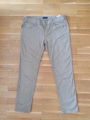Armani Jeans Pantalon en jersey marron clair
