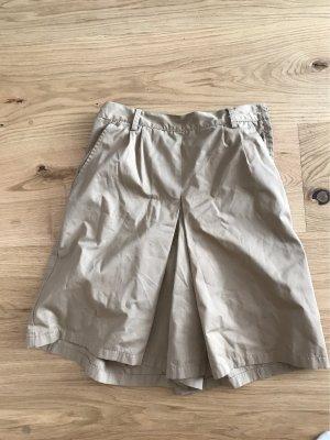Spodnie Capri nude