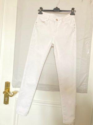 Spodnie termiczne biały