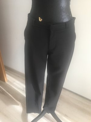 Mango collection Pantalón de pinza alto negro