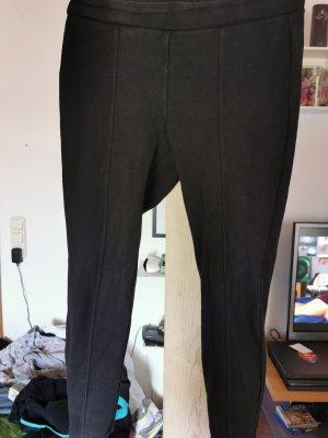 Basic Pantalon en jersey noir