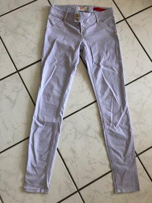 MET Pantalone a vita bassa multicolore