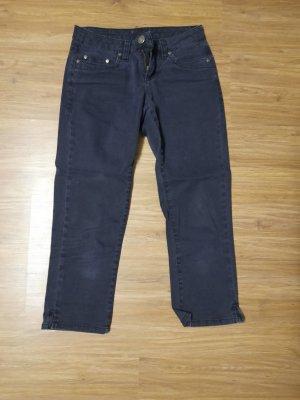 AJC 3/4 Length Jeans black