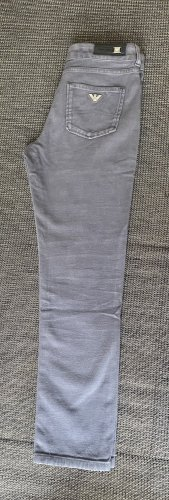 Armani Low-Rise Trousers light grey-grey