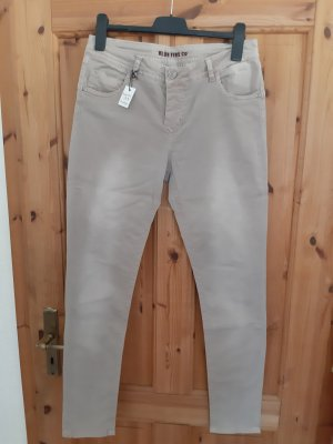 Blue Fire Jersey Pants dusky pink-mauve