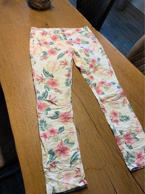 JEWELLY Stretch broek veelkleurig