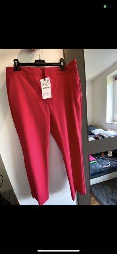 Zara Pantalon à pinces rose