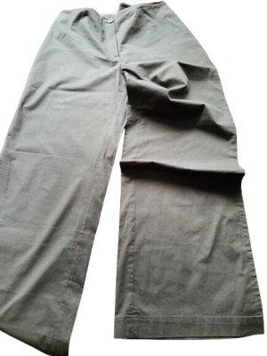 Unbekannte Marke Marlene Trousers dark blue cotton