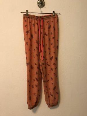 Maison Scotch Jersey Pants salmon-magenta