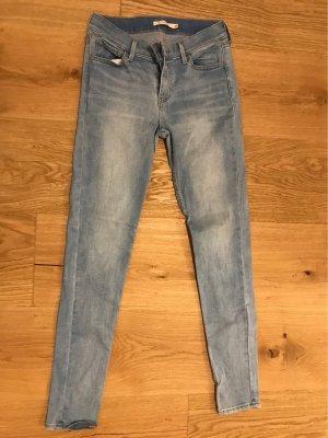 Levis Pantalon taille basse noir