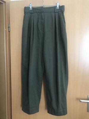 H&M Baggy Pants green grey
