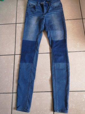 Vila Clothes Pantalone peg-top blu