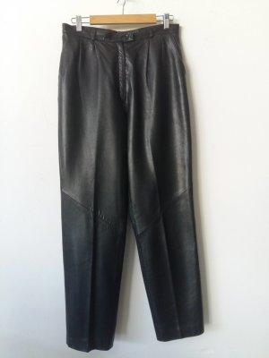 Pantalón de cuero negro Cuero
