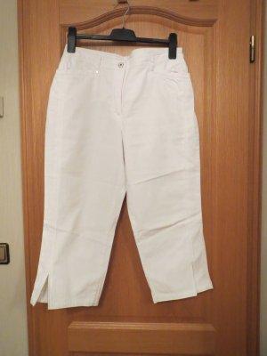 Canda Jeansy 7/8 biały