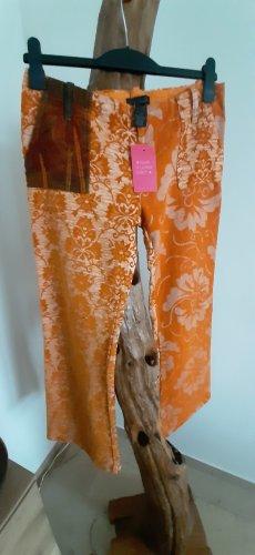 Custo Barcelona Pantalone di velluto a coste multicolore