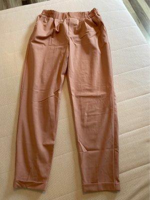 Bershka Pantalone cargo rosa