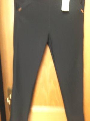 Pantalon thermique gris foncé-noir