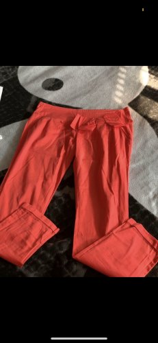 Pantalone a 7/8 rosso chiaro
