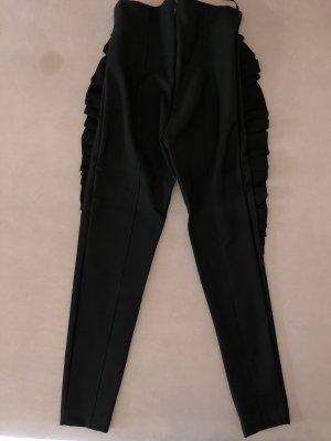 Elisabetta Franchi Pantalone da equitazione nero