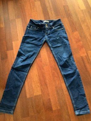 Nina Carter Low Rise Jeans dark blue