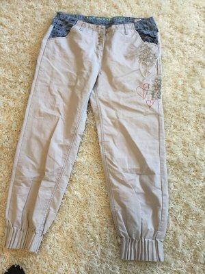 Desigual Pantalone fitness multicolore Cotone