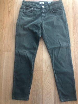 Closed Jeans coupe-droite kaki