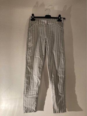 selfmade Pantalón anchos blanco-gris claro