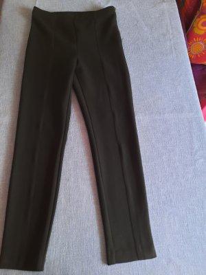 Pantalon en laine noir