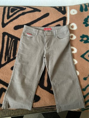 Confortif Denim 3/4 Length Trousers silver-colored-grey