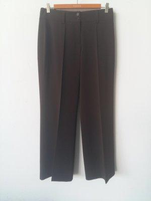 Cambio Pantalón de lana marrón oscuro Algodón